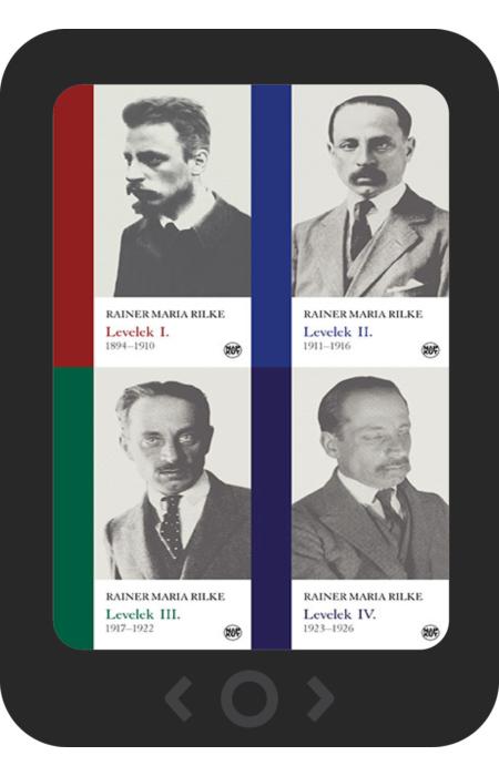 Rainer Maria Rilke: Levelek I–IV. [e-könyv]