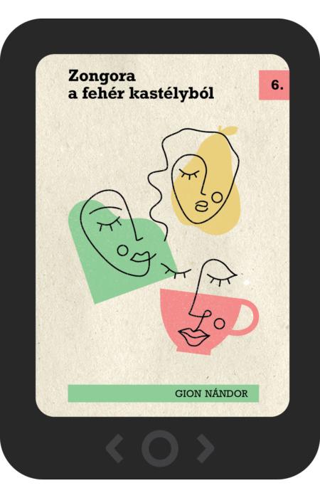 Gion Nándor: Zongora a fehér kastélyból [e-könyv]
